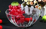 Salad bowl and Fruit plate